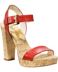 Michael Kors Michael London Sandal - Lyst