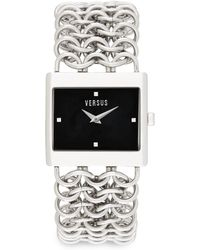 Versus  Stainless Steel Chain Bracelet Watch - Lyst