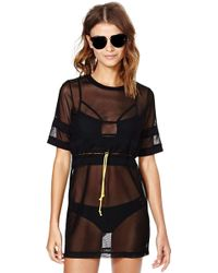 Nasty Gal On A Meshion Cover Up - Lyst