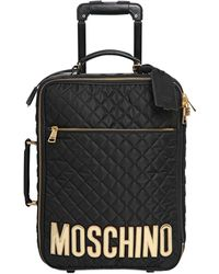 Moschino - Quilted Nylon Trolley - Lyst