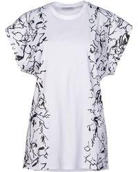 Balenciaga White T-shirt - Lyst