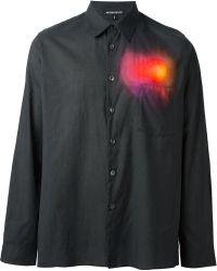 Ann Demeulemeester Spectrum Print Shirt - Lyst