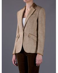 Ralph Lauren Blue Label Tweed Blazer - Lyst