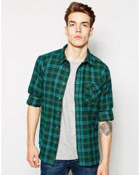 Bench - Flannel Shirt - Lyst