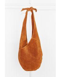 Kimchi Blue - Suede Knot Strap Hobo Bag - Lyst