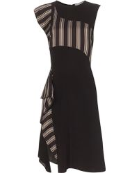 Phillip lim black silk dress