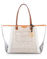 Henri Bendel West 57th Ew Blocked Tote - Lyst