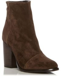 Rag & Bone | Zip-Back Suede Ankle Boots | Lyst