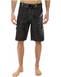 Affliction Thunderfoot Boardshort - Lyst