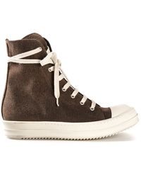 DRKSHDW by Rick Owens - 'Ramones' High Top Trainers - Lyst