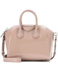 Givenchy Antigona Mini Patent Leather Tote - Lyst