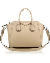 Givenchy | Antigona Small Studded Leather Satchel | Lyst