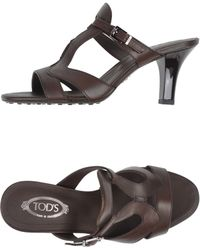 Tod's Sandals - Lyst