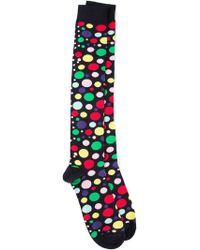 Fefe - Bubble Patterned Socks - Lyst