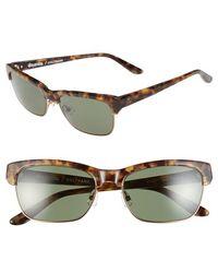 8baf5377678f Stussy - Stussy  coltrane  55mm Sunglasses - Camo Tortoise  Green Grey -  Lyst