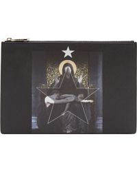 Givenchy Black Medium Madonna Pouch - Lyst