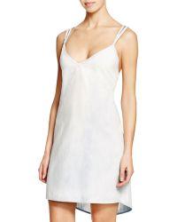 Sofia By Vix - Denim Braid Dress Swim Cover Up - Lyst