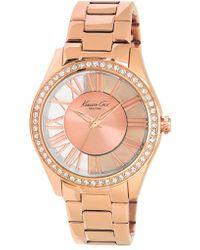 Kenneth Cole | Transparent Dial Bracelet Watch | Lyst