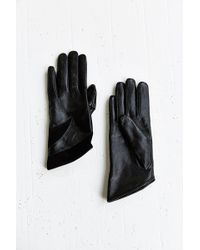 Urban Outfitters Leather  Suede Angled Glove - Lyst