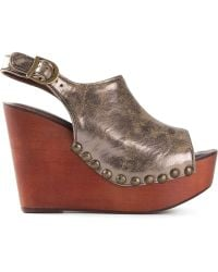 Jeffrey Campbell 'Snick' Wedge Sandals - Lyst