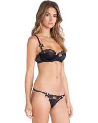 Agent Provocateur Marisela Padded Balcony Bra - Lyst