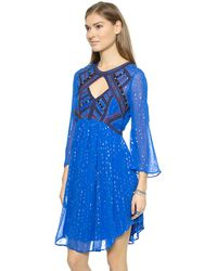 Free People All You Need Dress - Cobalt - Lyst