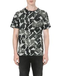 G-star Raw All-over Graphic-print T-shirt - Lyst