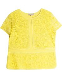 Paul & Joe Sister Lace Ss T-Shirt Top - Lyst