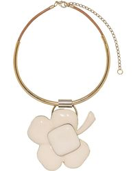 Marni | Short Necklace In Resin And Horn | Lyst