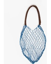 And So It Goes The Net Bag In Blue - Lyst