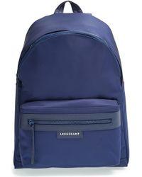 Longchamp 'Le Pliage Neo' Nylon Backpack blue - Lyst