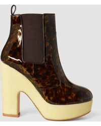 AllSaints Blaise Chelsea Boot brown - Lyst