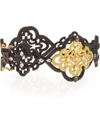 Armenta - Old World Scroll Bracelet With Diamonds - Lyst