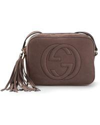 Gucci Signature Shoulder Bag - Lyst