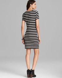 Velvet By Graham & Spencer Lily Aldridge For Dress Anna Slub Stripe - Lyst