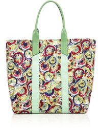Carolina Herrera Parasol-Print Tote multicolor - Lyst