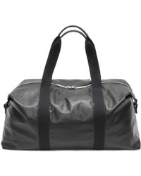Alexander McQueen - Leather Tech Gym Bag - Lyst
