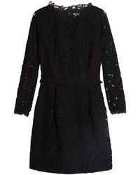 Alice By Temperley Black Eros Lace Dress - Lyst