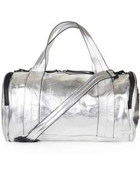 TOPSHOP | Barrel Metallic Luggage | Lyst