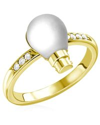 Theo Fennell - Light Bulb Ring - Lyst