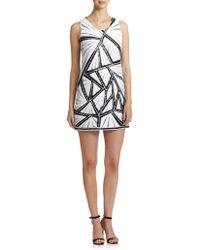 Shoshanna Graphic Sequined Kimberley Dress - Lyst