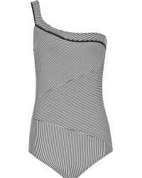 Reiss Kershaw Asymmetric Swimsuit - Lyst