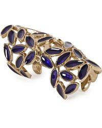 Bernard Delettrez - Purple Leaf Articulated Ring - Lyst