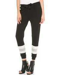 Maison Scotch - Baseball Jogger Trousers - Lyst