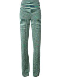 Missoni Zig Zag Pattern Trousers - Lyst