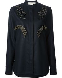 Stella McCartney Blue Evan Shirt - Lyst