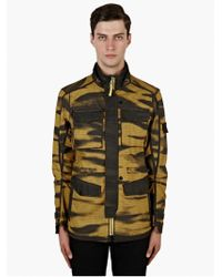 Stone Island Shadow Project 'Dpm Grid-R Inverse' Hooded Coat - Lyst
