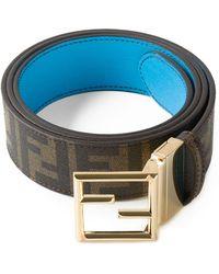 Fendi 'Zucca' Belt - Lyst