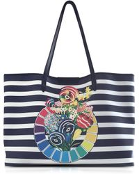 Mary Katrantzou - Sailor Colour Wheel Melina Tote - Lyst