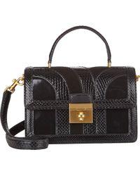Dolce & Gabbana Patchwork Rosalia Shoulder Bag - Lyst